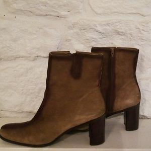Franco Sarto Suede Boots SZ 10M